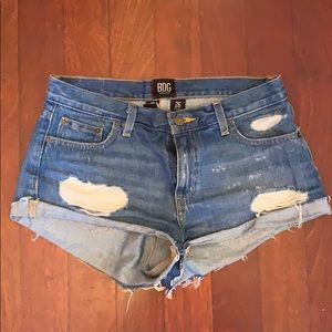 BDG Urban Outfitters Low-Rise Boyfriend Shorts